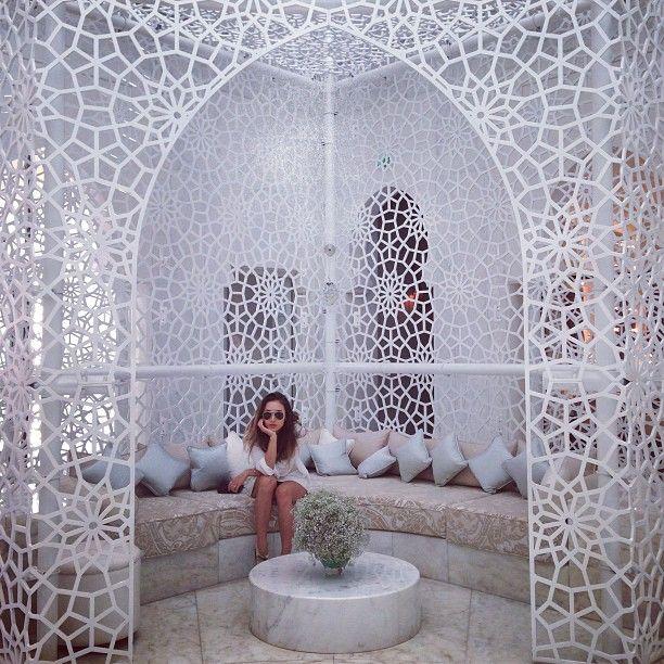 Moroccan interior; via Rumi Neely instagram