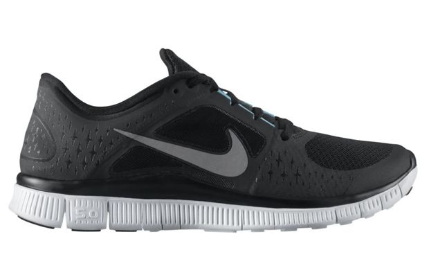 "Nike N7 Free Run+ 3 ""Black/Reflective Silver"""