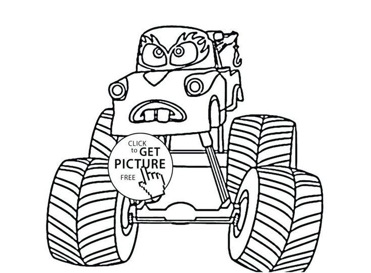 Mater Malvorlagen monstertrucks malvorlagen monster truck
