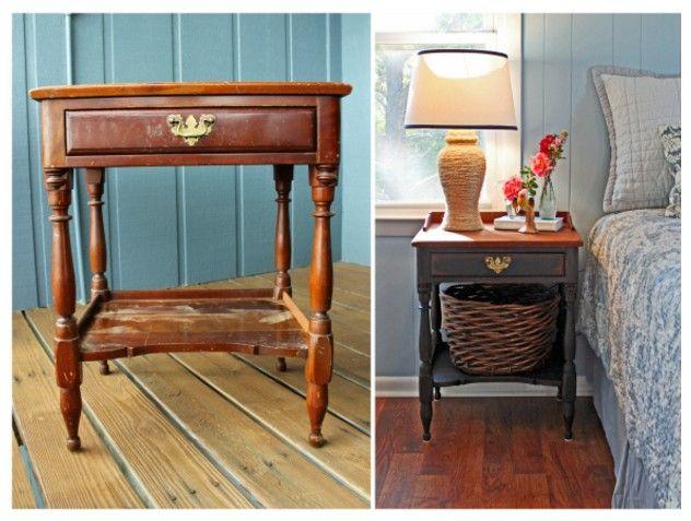 17 meilleures id es propos de meubles en bois de - Construire une table de chevet ...