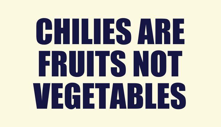 Fun #chilepepper #fact