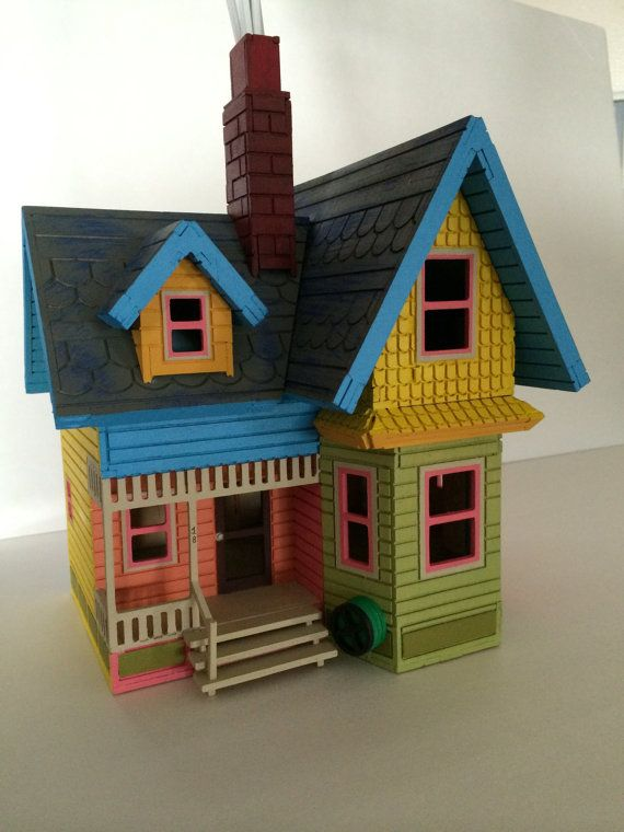 YOUR ADVENTURE AWAITS... ***** Please allow 4-6 week for delivery***** This 3D wooden puzzle is based on Carl and Ellies house from the