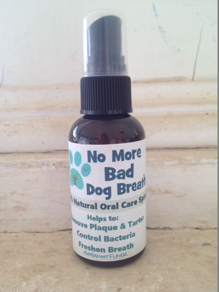 Earths Answers  - No More Bad Dog Breath naturally removes tartar, plaque control and whitens teeth.
