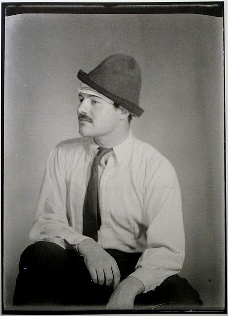 Ernest Hemingway, Paris, 1923