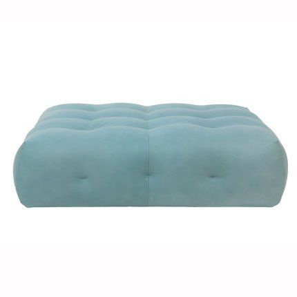 Blogger pouf by Roberto Tapinassi and Maurizio Manzoni for Roche Bobois #homedecor #decoration #home #teal #furniture