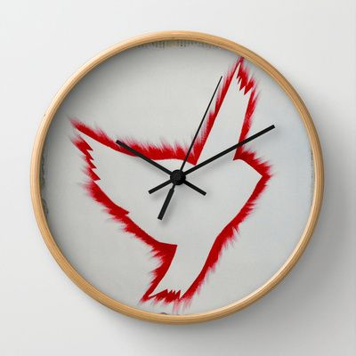 ThePeaceBombs - Japan Red Wall Clock by ThePeaceBombers - $30.00ThePeaceBombs - Good day for Peace Wall Clock by ThePeaceBombers - $30.00 #peace #decor #clock #home #trendy #thepeacebomb#shopping