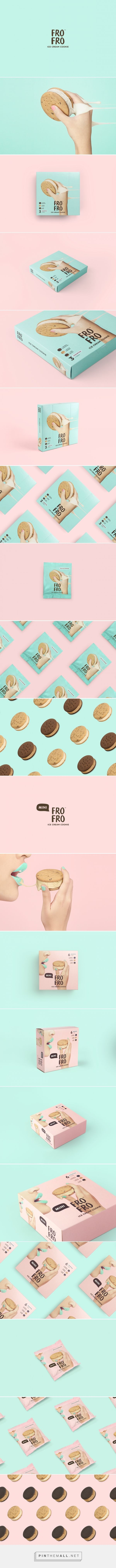 FRO FRO cookies packaging design by Bravo (Singapore) - http://www.packagingoftheworld.com/2016/08/fro-fro.html