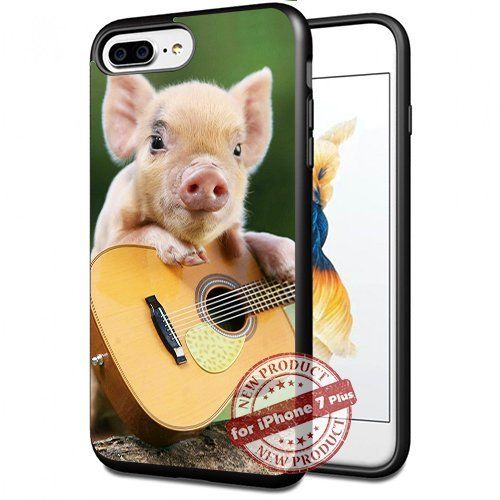 Funny Pig Play Guitar Apple iPhone 7+ Plus Case Cover Sli... https://www.amazon.com/dp/B0743KQG9W/ref=cm_sw_r_pi_dp_x_nY7HzbD6SHK48