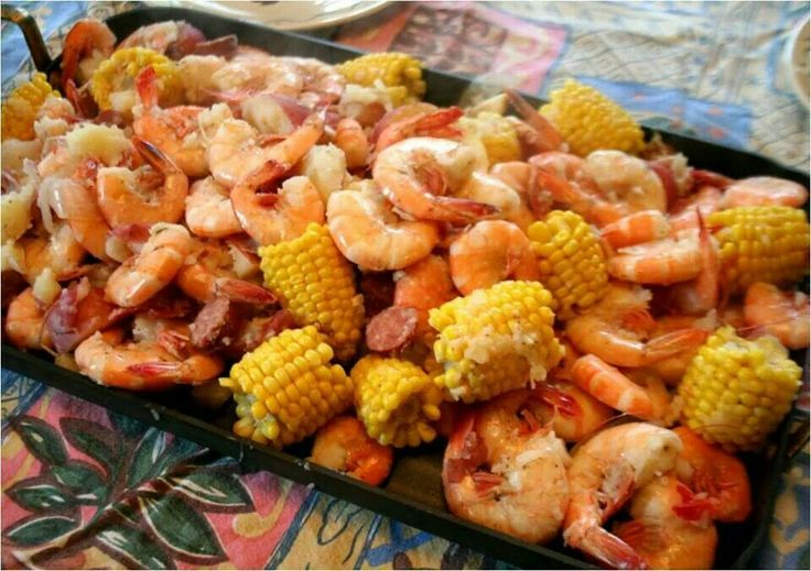 Low Country Boil..southern fav ♡♡ (recipe on blackdoctor.org)