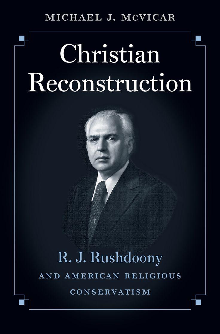 Image result for christian reconstruction michael j mcvicar