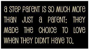 A step parent is so much more than just a parent - Wooden Signs Company, LLC