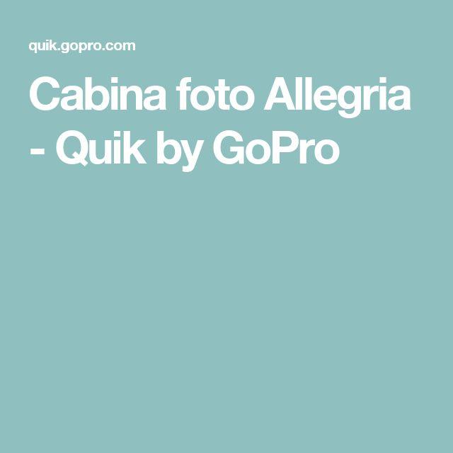 Cabina foto Allegria - Quik by GoPro