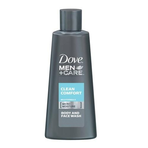 Dove Men+Care Clean Comfort Body and Face Wash, 3 oz.