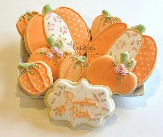 Best 25+ Decorated pumpkin cookies ideas on Pinterest ...