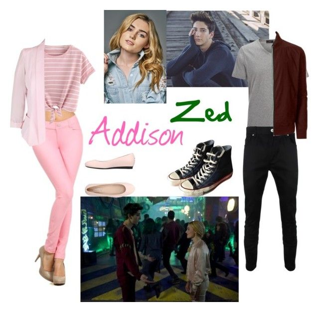 """""""Someday..."""" by marvelqueen3711 ❤ liked on Polyvore featuring Joseph, Disney, Moschino, City Chic, LE3NO, Converse and Tod's"""