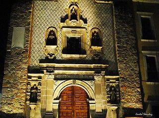 Fotografía del Templo de San Diego en Aguascalientes, México.