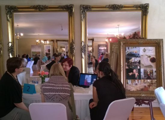 The Exclusive Getaways Pretoria workshop for travel agents and tour operators at Cricklewood Manor in Waterkloof Nov 2014