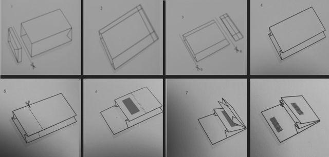 portemonnaie aus tetrapack mit 2 f chern bastelarbeiten pinterest selber machen. Black Bedroom Furniture Sets. Home Design Ideas