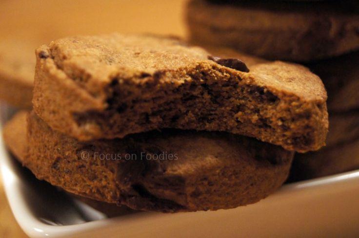 Tarwevrije Chocolate Chip Cookies zonder geraffineerde suiker