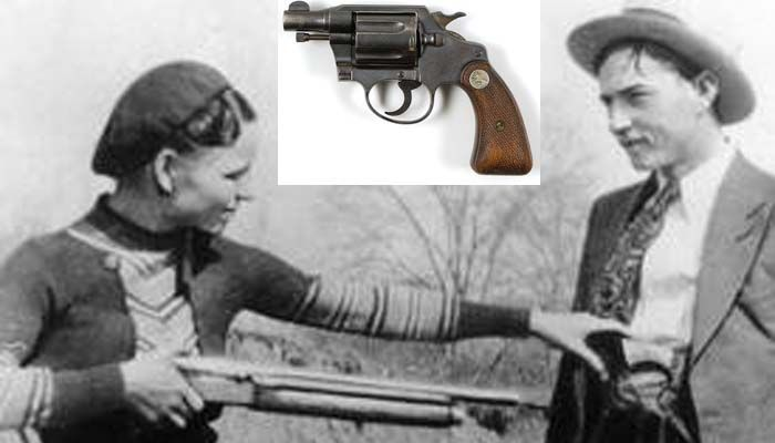 Bonnie Parker's .38 Special made legal by ATF ahead of auction