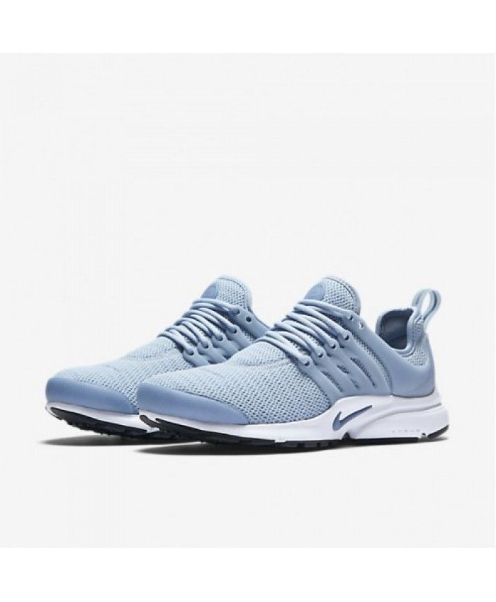 Air Presto Blue Grey Black White Ocean Fog Trainers