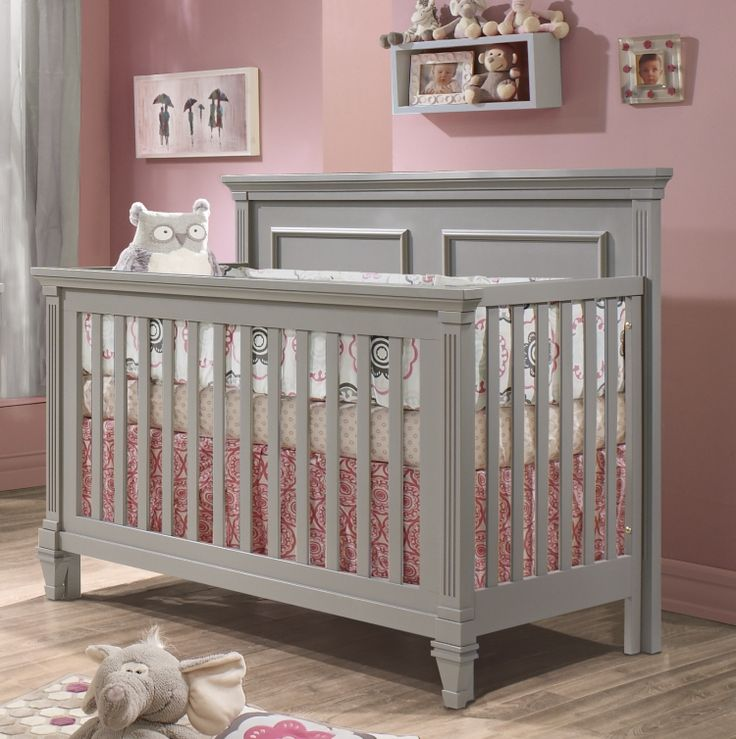 Natart Belmont Convertible Crib Solid Wood Baby