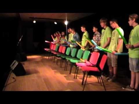 Percusión Corporal y Boomwhackers. Casa Juventud de Casetas 2015 - YouTube