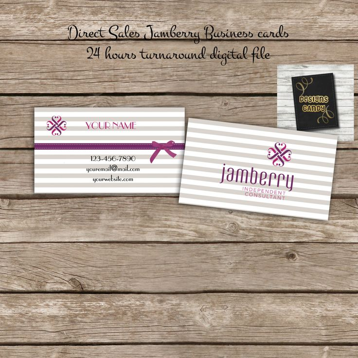 Jamberry Business Card - Digital File - Direct Sales Business Marketing- Jamberry business card - Printable DIY Custom Digital Download by DesignsCandy on Etsy