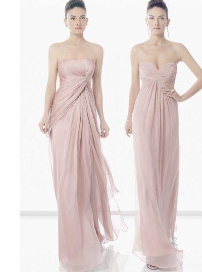 Un bello vestido rosado para esas amigas que te acompañarán