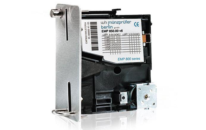 """ÖDEME TERMİNALLERİ Standard Endüstriyel 3,5"""" elektronik bozuk para ayırıcı EMP 800 bozuk para ayırıcılar, açık hava ya da kapalı ortamda çalışan makineler için optimal bir bozuk para ayırma çözümü garanti edecektir. Seçenekleri belirtmek veya atlamak müşterilere kendi özel uygulamalarına özel  bozuk para ayırıcıları seçme şansı verir.  DAHA FAZLA BİLGİ İÇİN: http://www.torapetrol.com/urunler/tamamlayici-urunler"""