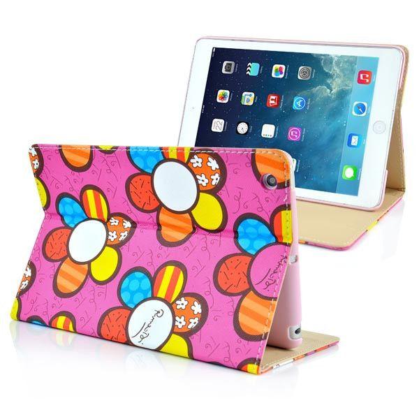 """Θήκη - Stand """"Sunflower"""" απο Δερματίνη για το iPad Mini (Σε 3 Χρώματα) - IPDML1"""