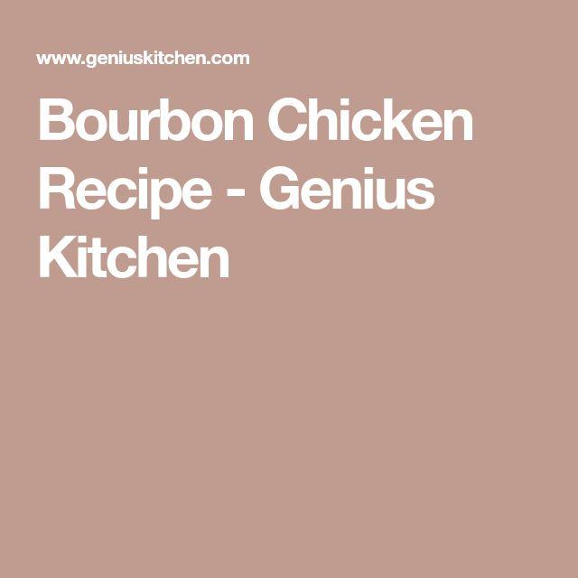 Bourbon Chicken Recipe - Genius Kitchen