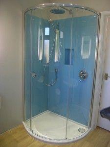 Glass Splashbacks shower wall