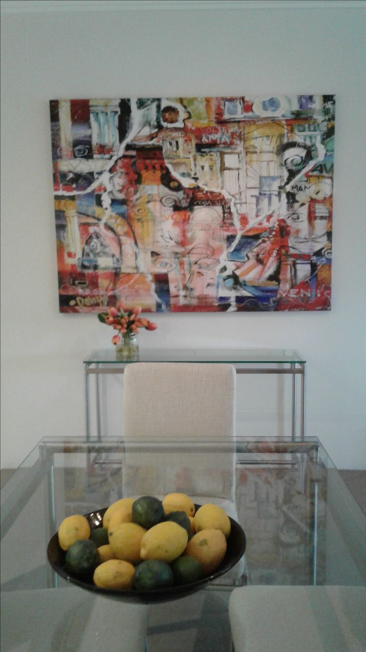 """""""Roman 18"""" Limited edition giclee print on canvas by Lucette Dalozzo"""