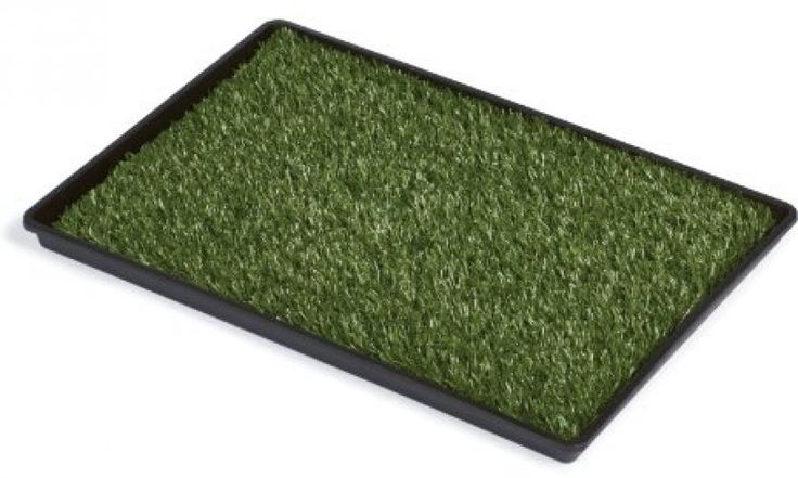 "Dog Potty Training Pee Turf Grass Pad Indoor Pet Patch Large 41"" Mat Trainer Pup…"