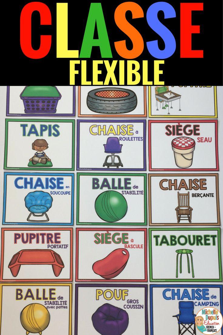 Rentrée scolaire: La classe flexible permet à l'enseignant d'offrir un aménagement flexible en salle de classe. Les élèves peuvent choisir un endroit qui leur permet de bien travailler.