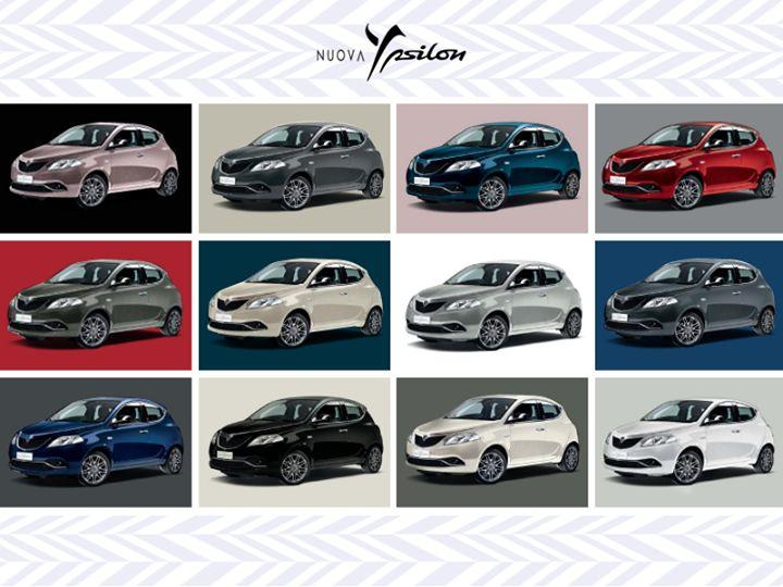 Który kolor Nowej Lancii Ypsilon podoba Wam się najbardziej? #Lancia