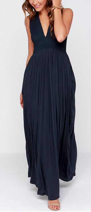 17 best ideas about navy maxi dresses on pinterest long for Navy maxi dresses for weddings