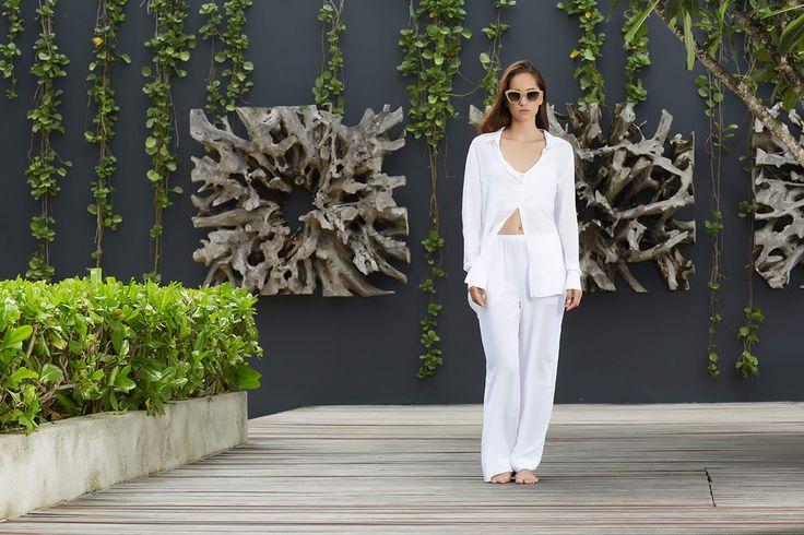 Baily Shirt, Palermo Pant // #beachgold #beachgoldbali #bali #resortwear #fashion #luxury #resortclothing