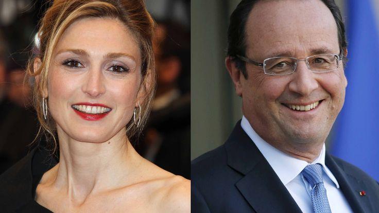 François Hollande et Julie Gayet en photos dans Paris Match