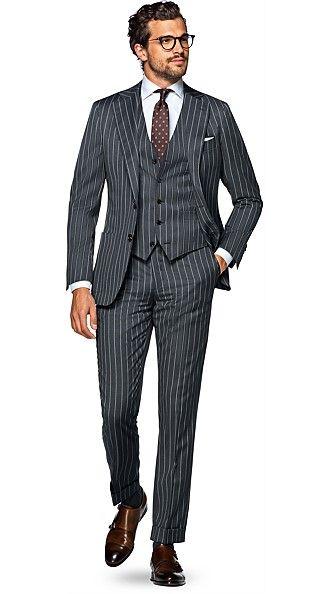 Jort Grey Stripe