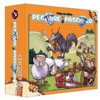 Pecore al Pascolo è un geniale gioco da tavolo per tutta la famiglia dall'interazione tra i giocatori molto elevata