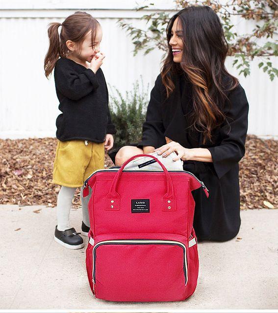 Fashion Del Bolso Del Panal de La Momia de Maternidad Marca Desiger Mochila Bolsa de Viaje de Gran Capacidad Del Bebé De Enfermería para el Cuidado Del Bebé