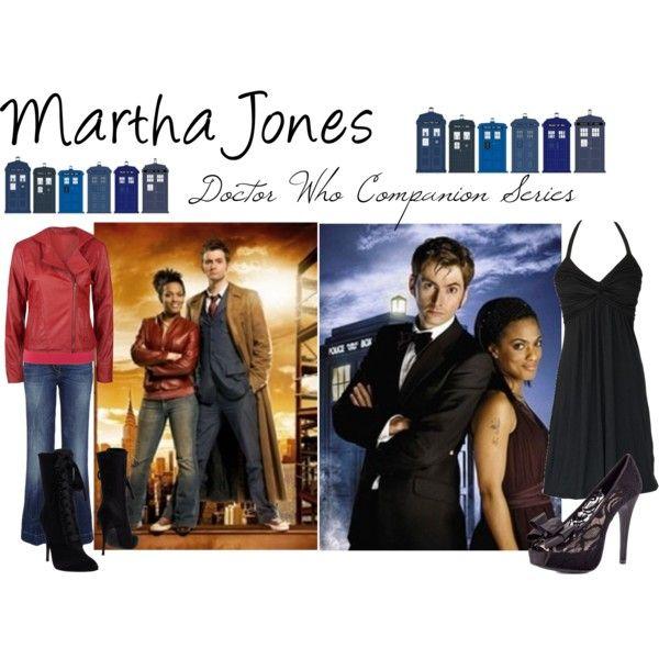 """Martha Jones- Doctor Who Companion Series"" by oswin-oswald on Polyvore"