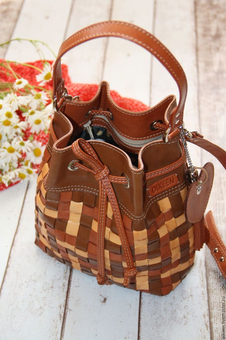 Купить Сумка торба кожаная Wicker в коричневом - коричневый, сумка, сумочка, сумка кожаная