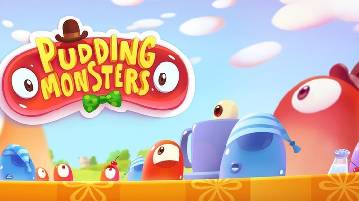 Android App Pudding Monsters Review  #Android, #App, #PuddingMonsters