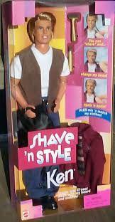 1999 Ken - Shave 'N Style #42990