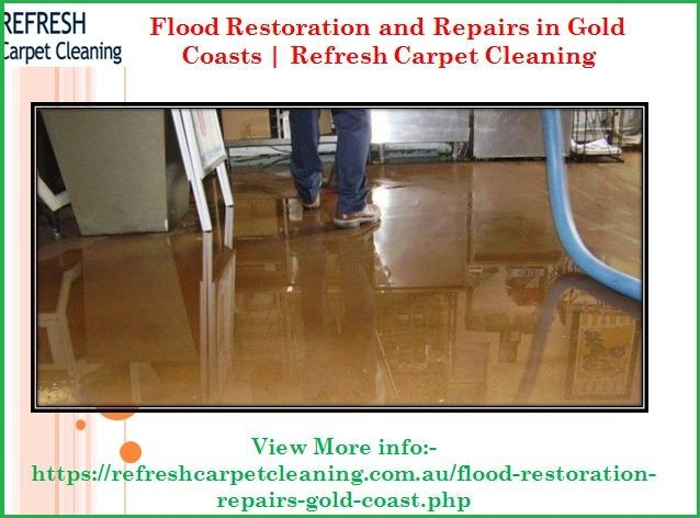 If You Want Flood Restoration And