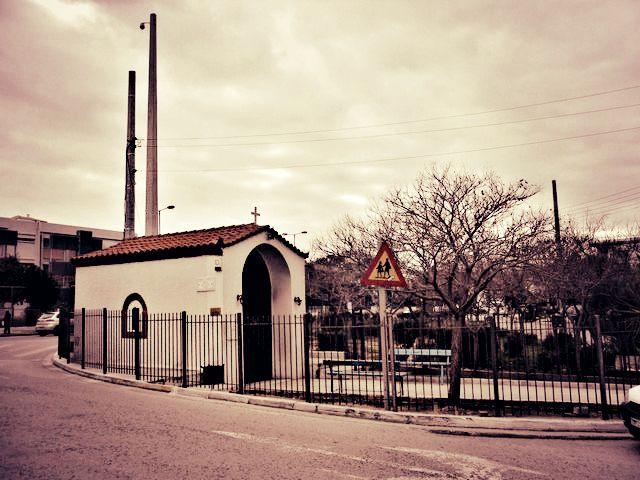 Το εκκλησάκι του Αγίου Νικολάου