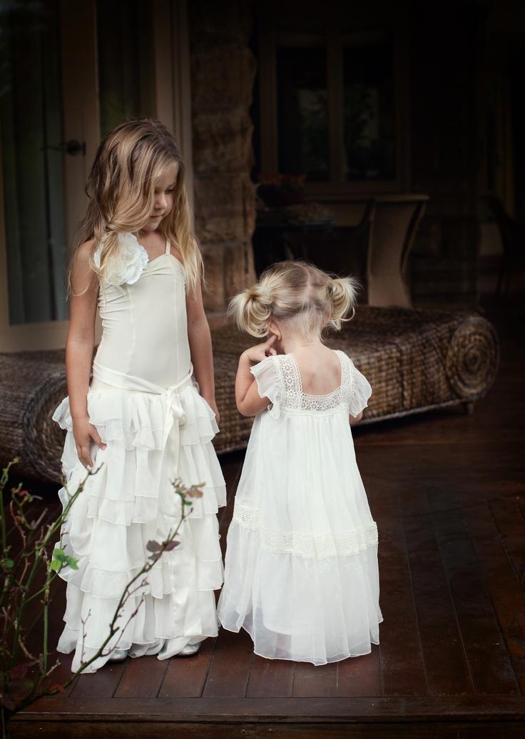 How lovely! Vintage flower girl dresses  Alice & Olive Dress by Tea Princess